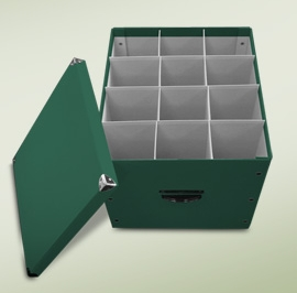 "Byers Choice Caroler - ""Caroler  Storage Box"""