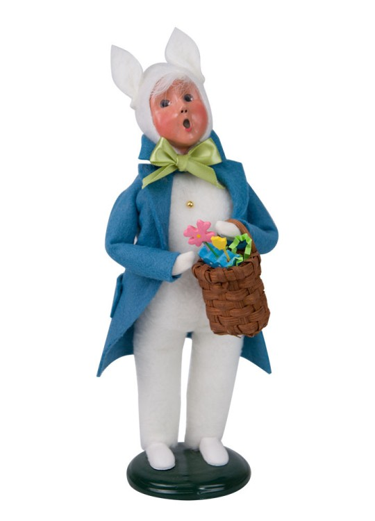 Byers Choice Caroler - Easter Bunny Boy 2018