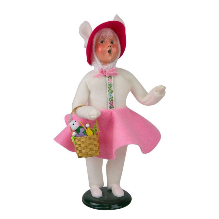 Byers Choice Caroler - Easter Bunny Girl 2018