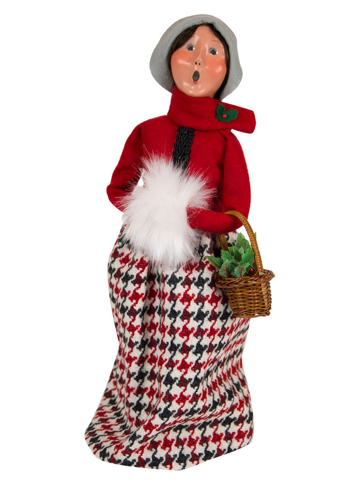 Byers Choice Caroler - Evergreen Woman 2018
