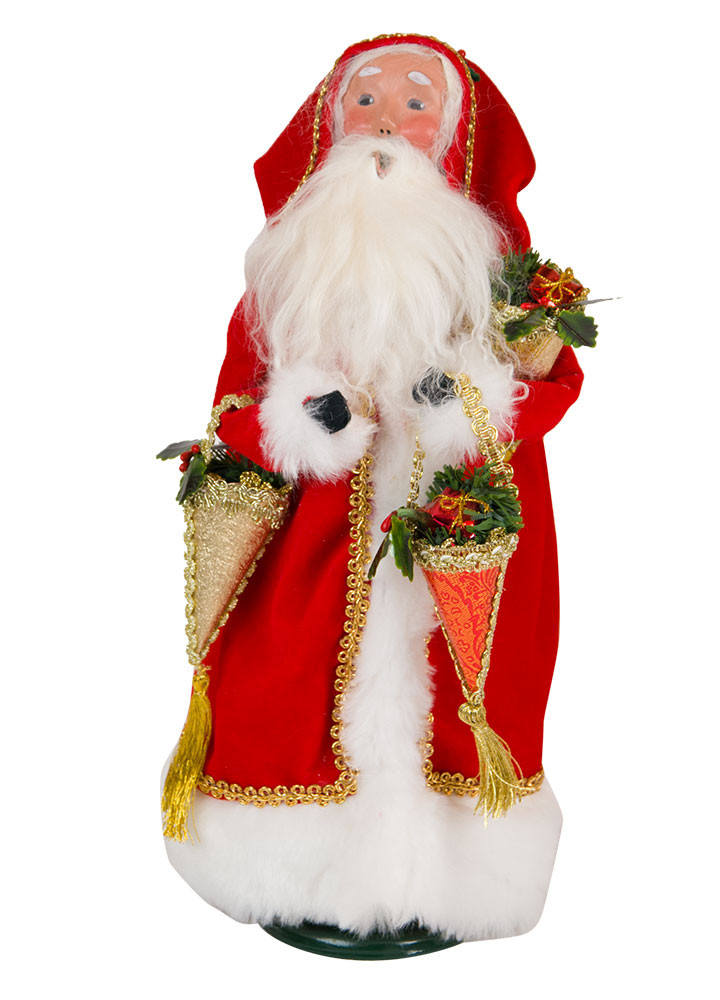 Byers Choice Caroler - Father Christmas 2018