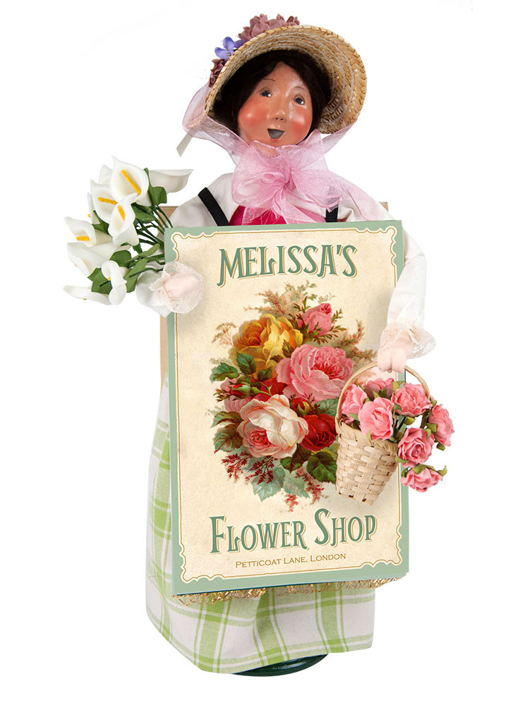 Byers Choice Caroler - Flower Shop Woman 2018