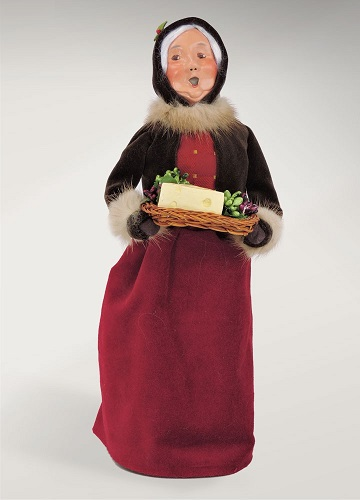 "Byers Choice Caroler - ""Holiday Mrs. Claus"""