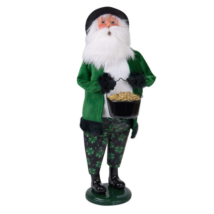 Byers Choice Caroler - Irish Santa 2018