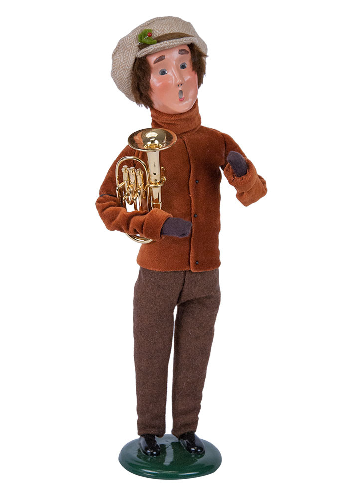 Byers Choice Caroler - Musical Man with Baritone 2018