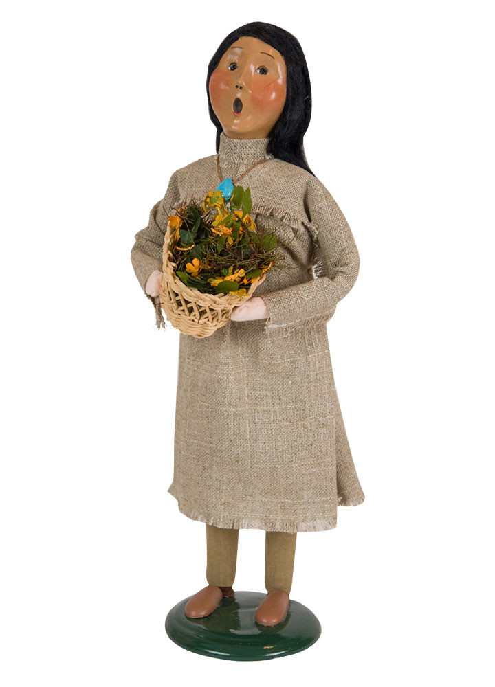 "Byers Choice Caroler - ""Native American Woman"" 2018"