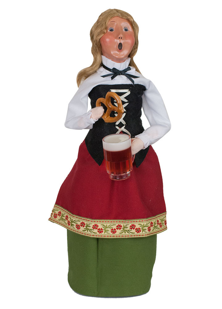 "Byers Choice Caroler - ""Oktoberfest Woman"" 2018"