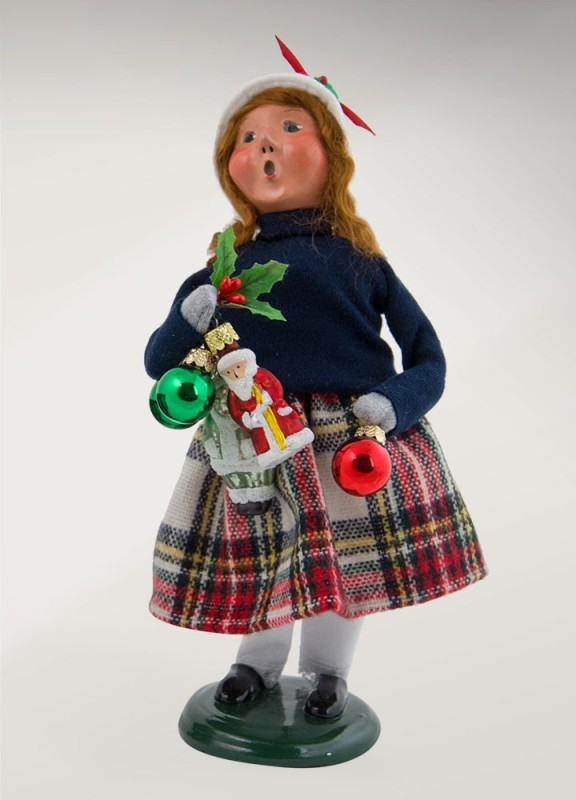 "Byers Choice Caroler - ""Ornament Girl"" 2017"