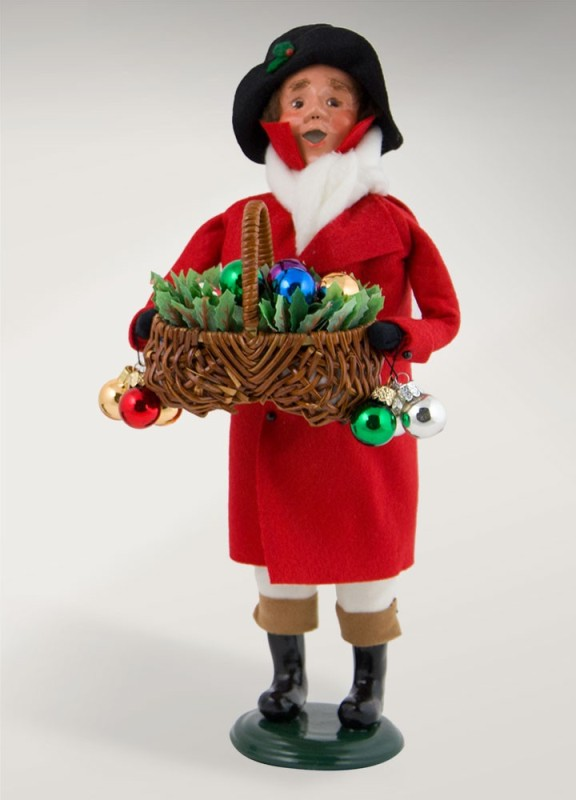 "Byers Choice Caroler - ""Ornament Vendor"" 2017"