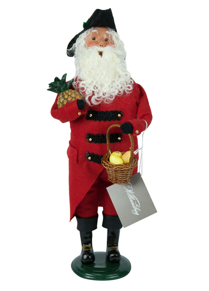 Byers Choice Caroler - Red & Black Colonial Grandpa 2018
