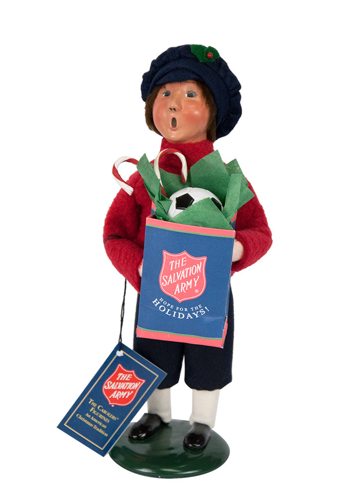 Byers Choice Caroler - Salvation Army Boy 2018