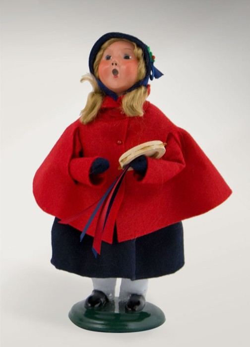 Byers Choice Caroler - Salvation Army Girl 2017