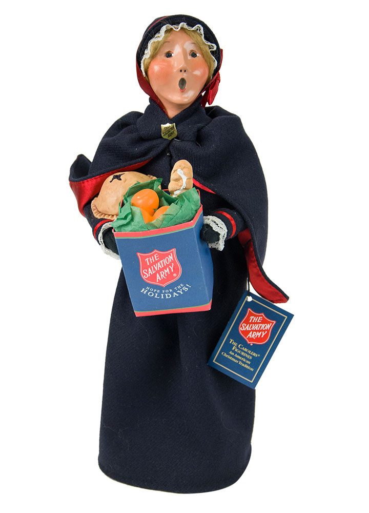 Byers Choice Caroler - Salvation Army Woman 2018