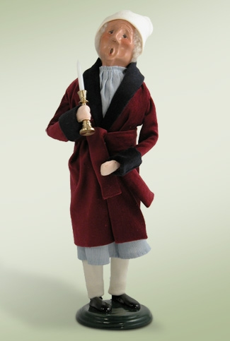 "Byers Choice Caroler  - ""Scrooge in Robe"""