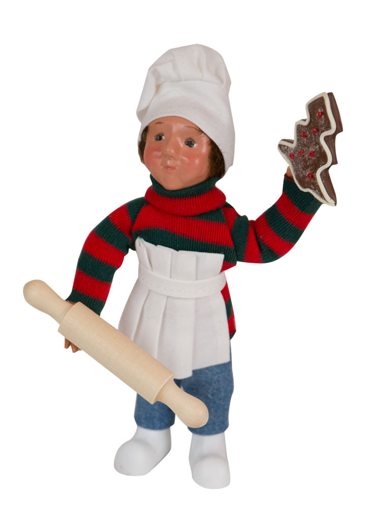 Byers Choice Caroler - Toddler Boy Baking 2018