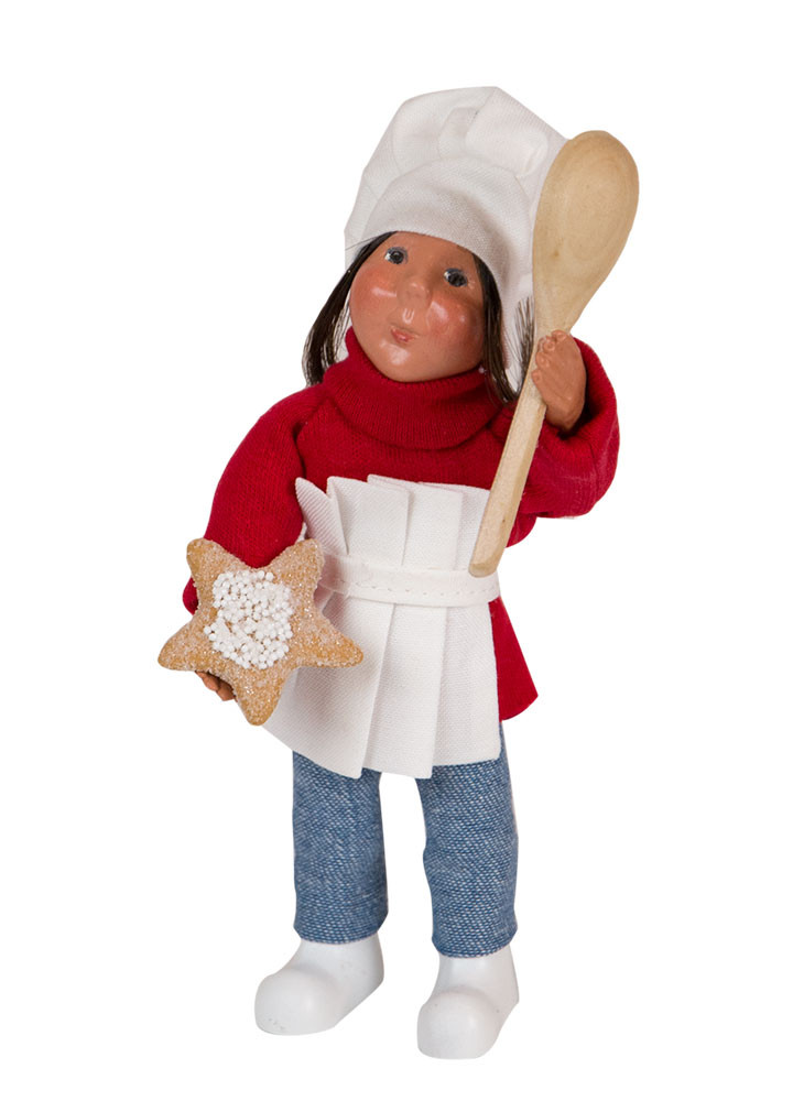 Byers Choice Caroler - Toddler Girl Baking 2018