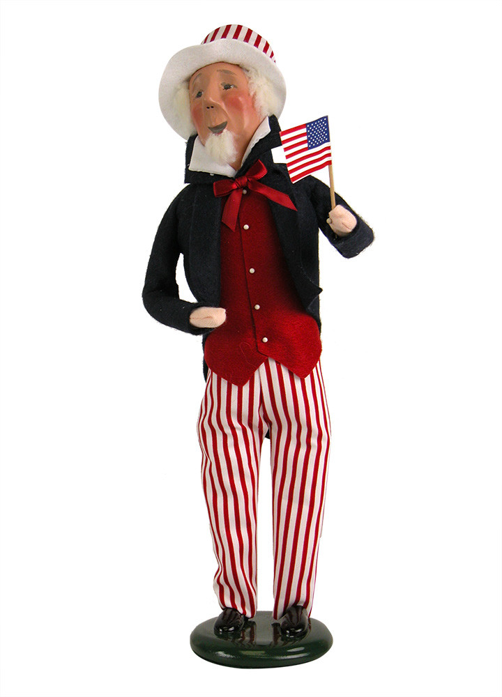 "Byers Choice Caroler - ""Uncle Sam"" 2018"