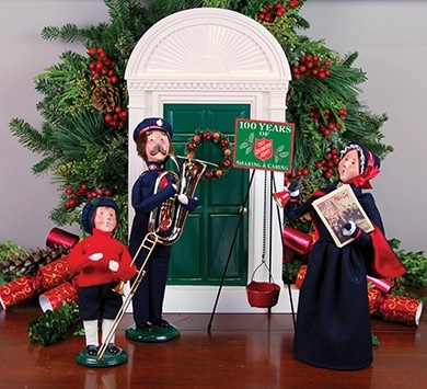 Byers Choice Carolers - Salvation Army