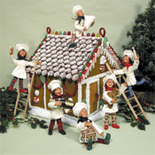 Byers Choice Gingerbread Houses - Christmas