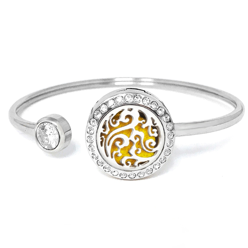 "C.T. Hill Essential Oil Bangle - ""Mystic Swirl"" - 0.875in Diameter"