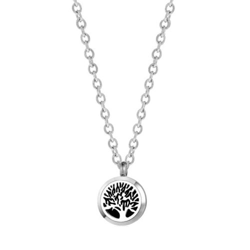 "C.T. Hill Essential Oil Necklace - ""Family Tree"" - 0.875in Diameter"