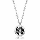 "C.T. Hill Essential Oil Necklace -""Family Tree - 0.984in Diameter"
