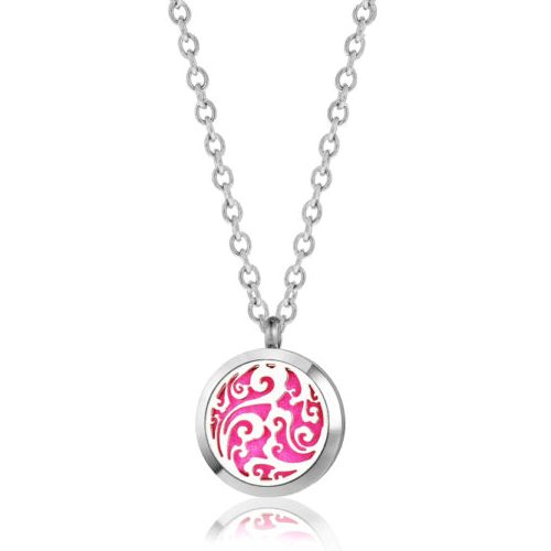 "C.T. Hill Essential Oil Necklace - ""Mystic Swirl"" - 0.984in Diameter"