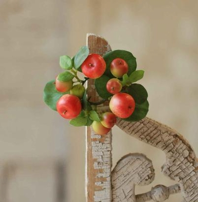 Candle Ring -Matte Red Mixed Fruit - 1 Inch