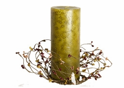 """Candle Rings - """"Mini Berry Candle Rings"""" - 3.5 Inch"""