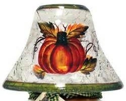 "Candle Shade - ""Autumn Harvest Candle Shade"""