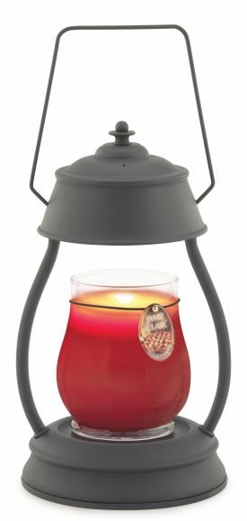"Candle Warmer - ""Black Hurricane Candle Warmer"""