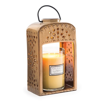 "Candle Warmer - ""Electric Large Jar Candle Warmer"" - Lantern"