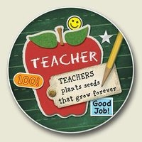 "Car Coaster - ""Teachers"""