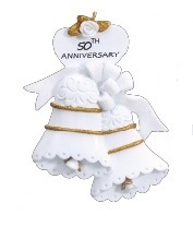"Christmas Ornament - ""50th Anniversay Ornament"""