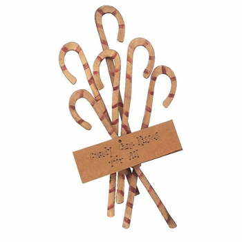 """Christmas Ornament - """"Candy Cane Ornaments"""" - Set of 6"""