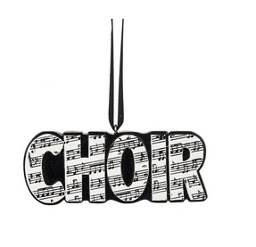 "Christmas Ornament - ""Choir Ornament"""