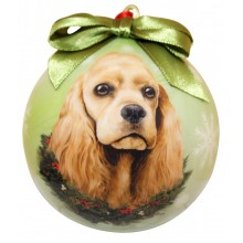 "Christmas Ornament - ""Cocker Spaniel"""