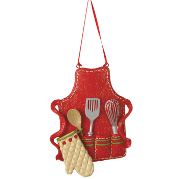 "Christmas Ornament - ""Cooks Apron Ornament"""
