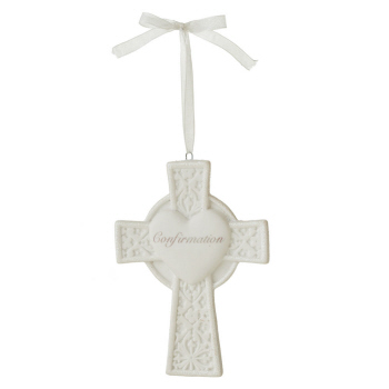 "Christmas Ornament - ""Cross - Confirmation Ornament"""