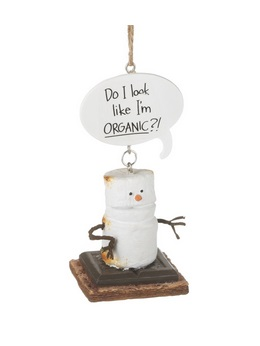 "Christmas Ornament - ""Do I Look Like I'm Organic Smore Ornament"""