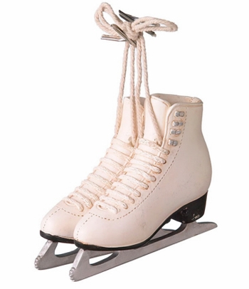 "Christmas Ornament  - ""Figure Skates Ornament"""