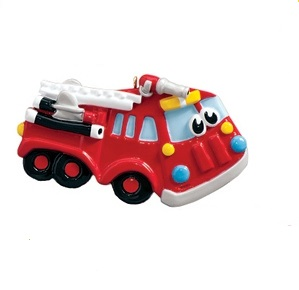 "Christmas Ornament - ""Fire Truck  Ornament"""