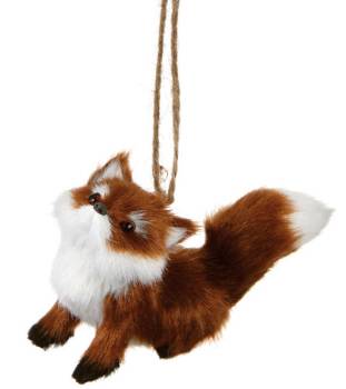 "Christmas Ornament - ""Fox Ornament"""