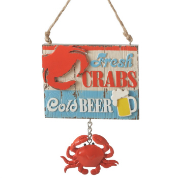 "Christmas Ornament - ""Fresh Crabs... Ornament"""