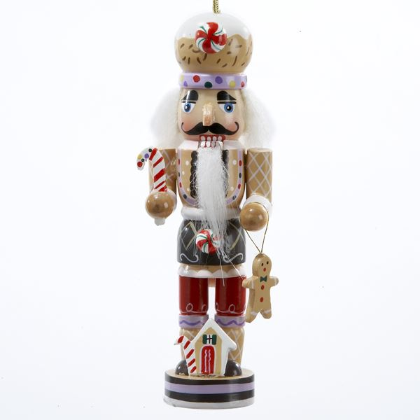 "Christmas Ornament - ""Gingerbread Nutcracker"" - 5in"