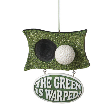 "Christmas Ornament - ""Golf Ornament"""