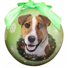 "Christmas Ornament - ""Jack Russell"""