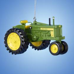 "Christmas Ornament - ""John Deere Diesel Tractor Ornament"""