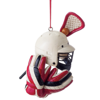 "Christmas Ornament - ""Lacrosse Gear Ornament"""
