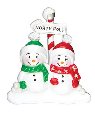 "Christmas Ornament - ""North Pole Family Ornament - 2"""